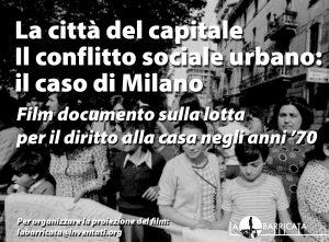La città del Capitale - Il conflitto sociale urbano: il caso di Milano